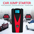 Onever Car emergency Start power Power Bank Booster 12V  99900mAh LED/SOS Car Jump Starter Battery Backup Charger 2 USB Charger