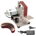 Мини-электрический шлифовальный станок с многофункциональный измельчитель ленточно-шлифовальный станок DIY шлифовальная полировальная ма...