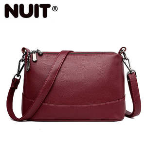 Image 1 - 2020 женские сумки мессенджеры, маленькие сумки через плечо для женщин, кожаная сумка через плечо, женские сумки, высокое качество, винтажная Сумка, Новинка