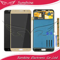 Tested LCD For Samsung Galaxy J7 Neo J701 SM- J701F J701M J701MT LCD Display With Touch Screen Sensor Complete Assembly