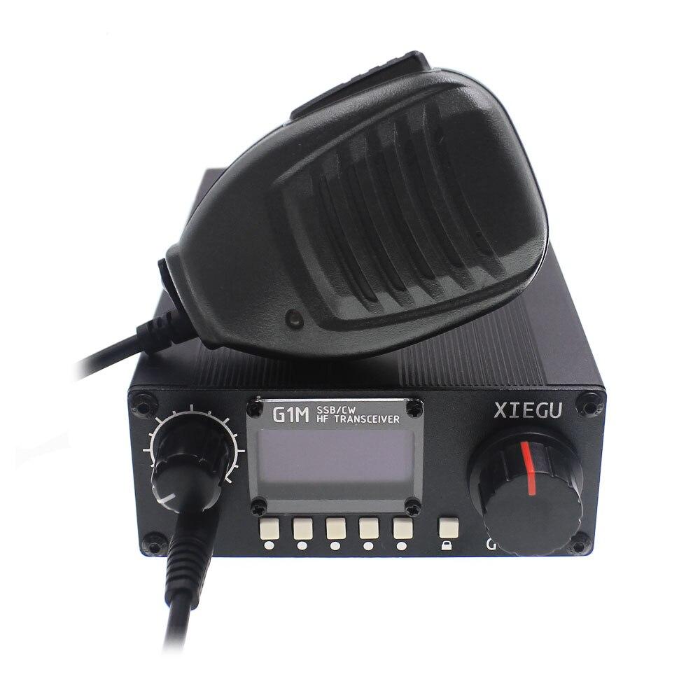 XIEGU G1M SSB/CW 0.5-30MHz Moblie Radio HF Transceiver Ham QRP G-CORE SDR Amateur Radio