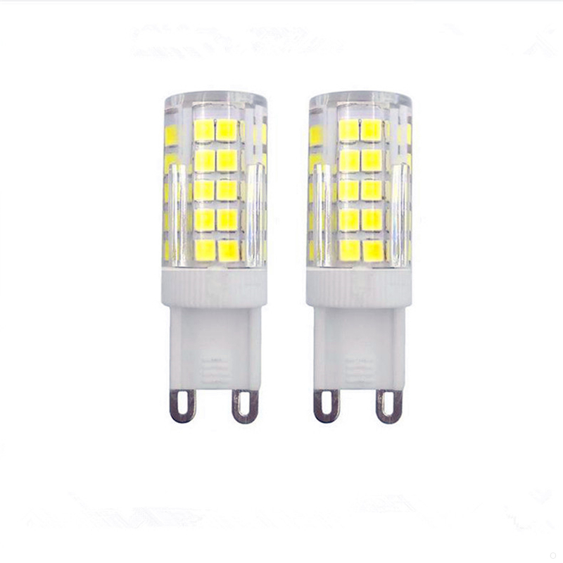 G9 E11 E12 E14 E17 BA15D SMD2835 64leds 6W AC110V AC220V <font><b>Led</b></font> Bulbs repalce 60W halogen light dimmable Corn lights lamp 5pcs/lot image