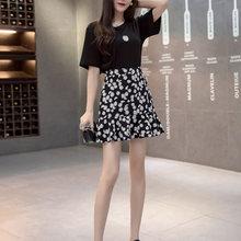 Летняя юбка с высокой талией женские повседневные юбки миди