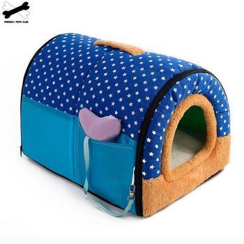Handheld Foldable Dog House 4