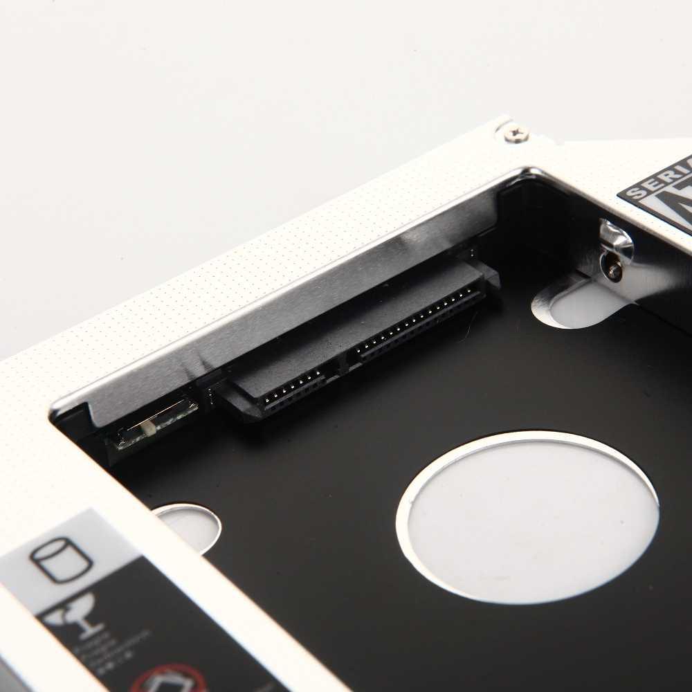 12.7mm 2nd HDD SSD Quang Vịnh Caddy Khung Adapter dành cho Laptop Dell XPS 15 L501X L502X 17 L701X l702X 1640 1645 1647