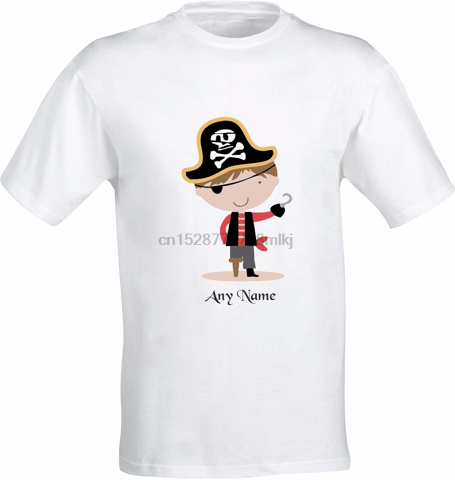 PERSONALISED BOY PIRATE FULL COLOR SUBLIMATION T SHIRT