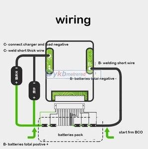 Image 5 - 12S 36V 30A 25A 20A 15A Lifepo4, защита литиевого железа, фосфатная батарея, инвертор для платы BMS PCM с балансировочным питанием, 12V 8S 24V 3,2 V