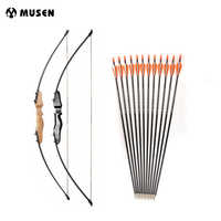 New 51 Inches Straight Bow with 30 Pounds Fiberglass Limbs for Archery Hunting Shooting Activities