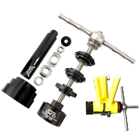 Wrench Install Axis Repair Removal Tool Set Alloy Assorted Bicycle Bearing Disassembly Practical Easy Use Press In Center Shaft Bicycle Repair Tools    -