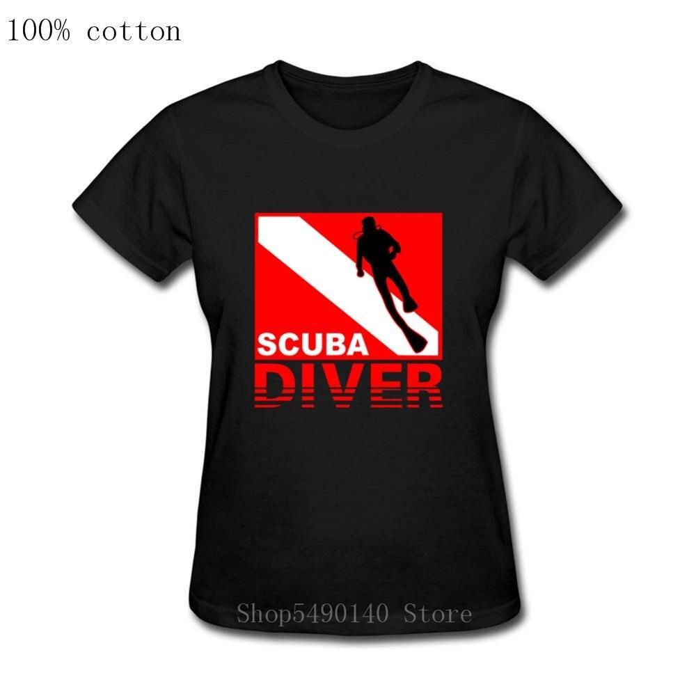 Plongée sous-marine masque T-Shirt plongée plongée t-shirts drôle anniversaire cadeaux présent plongée en apnée Oxyge femmes adulte T-Shirt Hipster manches courtes