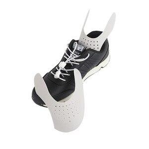1 para zmywalny nosek ochronny wsparcie prawidła do butów praktyczne anty zagniecenia zginanie Crack uniwersalny Sneaker tarcza Shaper Expander