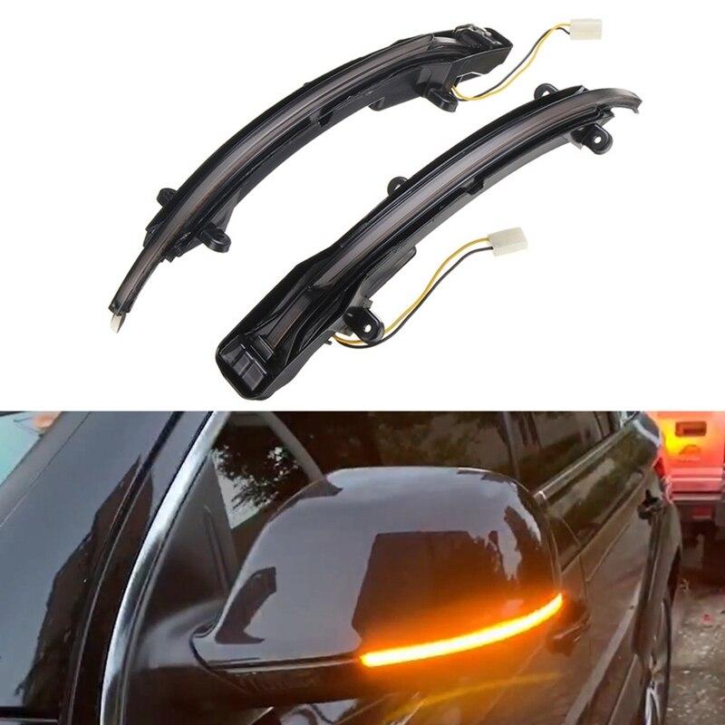 Car LED Dynamic Turn Signal Light Rearview Side Mirror Light Indicator Blinker for Audi Q5 SQ5 8R 2008- 2017 Q7 Facelift 2009-20
