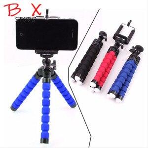 Image 1 - سيارة نمط حامل هاتف المحمول حامل هاتف جوال مرن ثلاثي الأرجل قوس Selfie حامل جبل كما ستستهدف دعم ل فون XIAOMI كاميرا