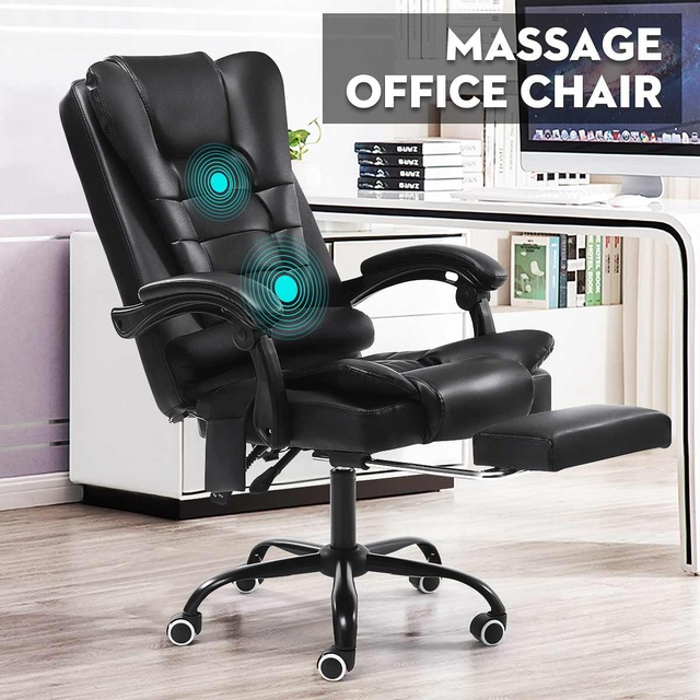 Computer Chair Office Home Swivel Massage Chair Lifting Adjustable Desk Chair WCG Gaming Chair Armchair Lying Recliner Chair 2