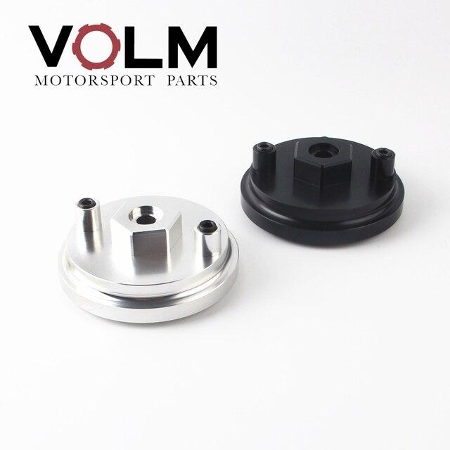 auto Aluminum oil filter adapter for oil pressure and oil temperature for bmw e46 e36 e34 car accessories cap03