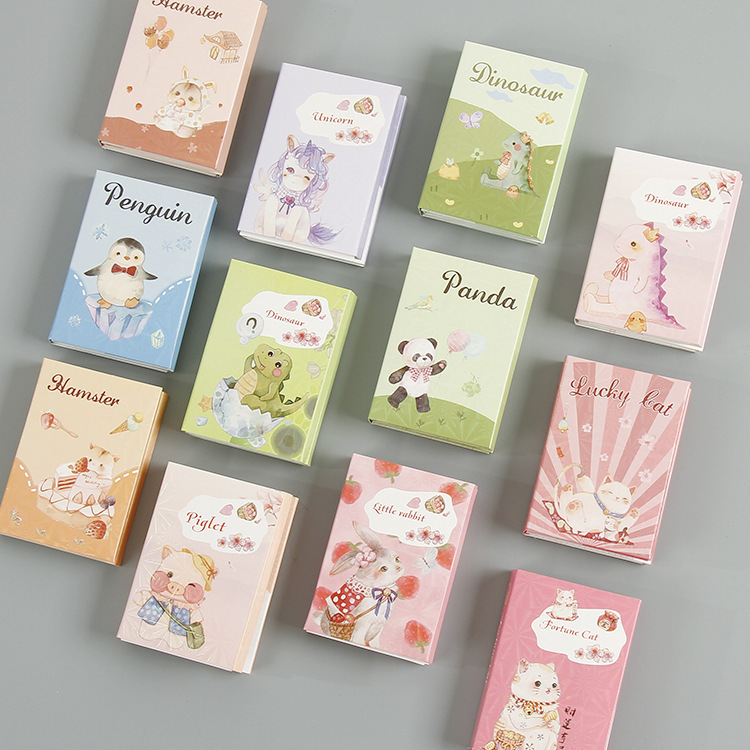 1set/lot Memo Pads Sticky Notes Cute Pet Series Paper Diary Scrapbooking Stickers Office School Stationery Notepad