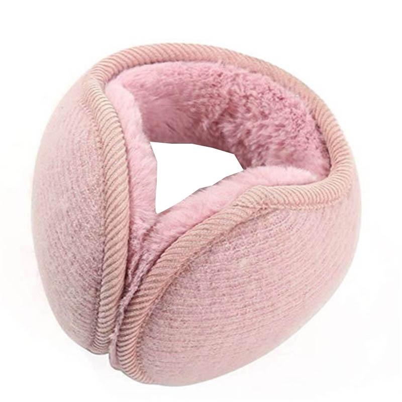 2019 Winter Earmuffs For Men Women Fashion Solid Color Plush Earmuffs Adjustable Ear Warmer Ear Protection Covers Soft Ear Muffs