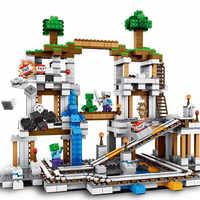 922pcs My World The Mine Building Blocks Compatible Legoinglys 21118 Toys for Children Christmas Gift DIY Model