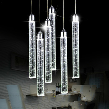 Creative personality living room bedroom dining room crystal Pendant Lights restaurant led modern simple lamps WF5271035