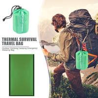Schlafsäcke Outdoor Klettern Camping Notfall Schlafsack Thermische Überleben Reisetasche Camping und Wandern Zubehör