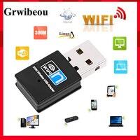 MINI adaptador Wifi USB 300Mbps USB2.0 wifi antena con wifi y usb ethernet wifi dongle 802,11 n/g/b/enchufe usb wifi lan comfas