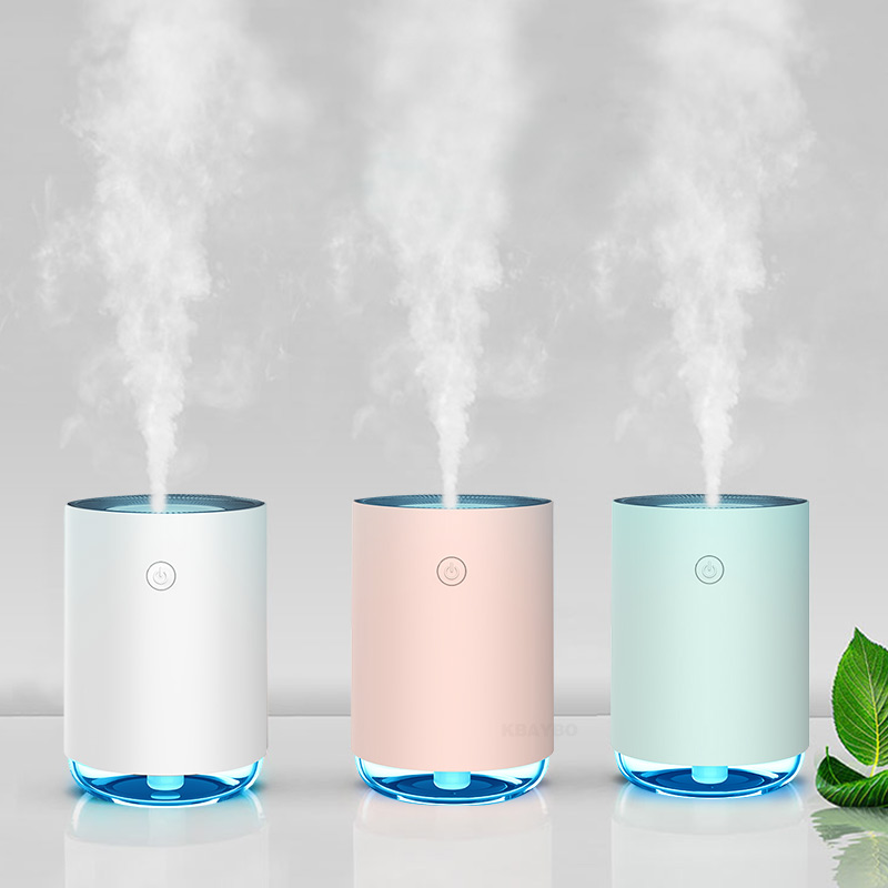 KBAYBO 230ml Aromatherapy Essential Oil Diffuser 7 Color LED Light Ultrasonic Cold Fog Humidifier Air Purifier