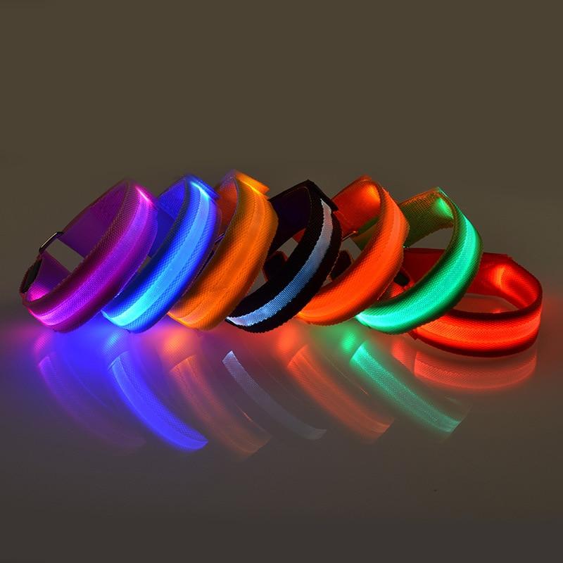 Equestrian Supply LED USB Luminous Horse Leg Strap Outdoor Horse Riding Safety Warning Belts Night Visible Horses Leg Decoration