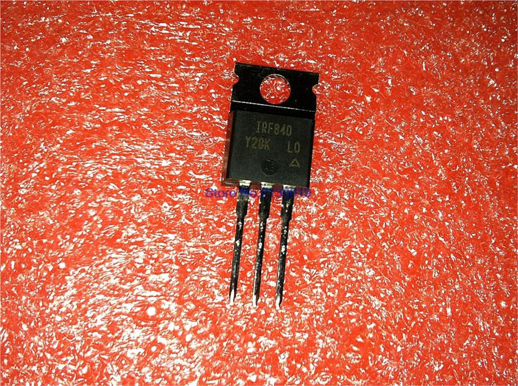 10pcs/lot IRF840PBF IRF840 TO-220 In Stock
