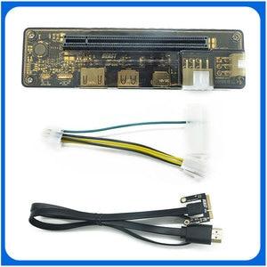PCIe PCI-E EXP GDC External Laptop Video Card Dock / Laptop Docking Station (Mini PCI-E interface Version) dropship