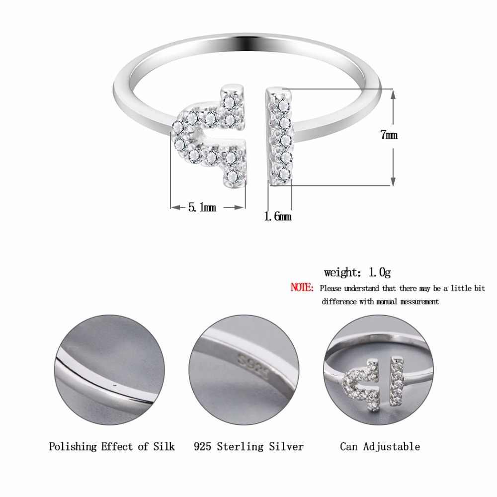 Новинка 2019 года, серебряное кольцо со звездой, Созвездие зодиака, круглое разомкнутое кольцо с цирконом, украшения для рождественской вечеринки, подарок на день рождения для девочек
