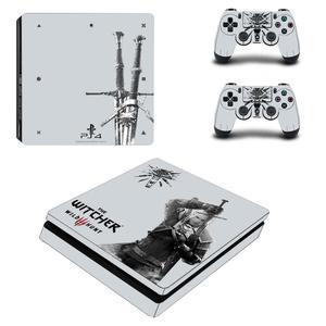 Image 2 - 와일드 헌터 전체 Faceplates PS4 슬림 스킨 스티커 데칼 비닐 플레이 스테이션 4 콘솔 & 컨트롤러 PS4 스티커