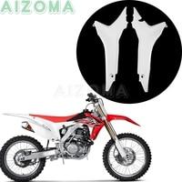 2pcs Dirt Pit Bike Rear Air Box Cover For Honda CRF250R 2014 2017 Motocross Plastic Panels Guard For Honda CRF450R 2013 2016