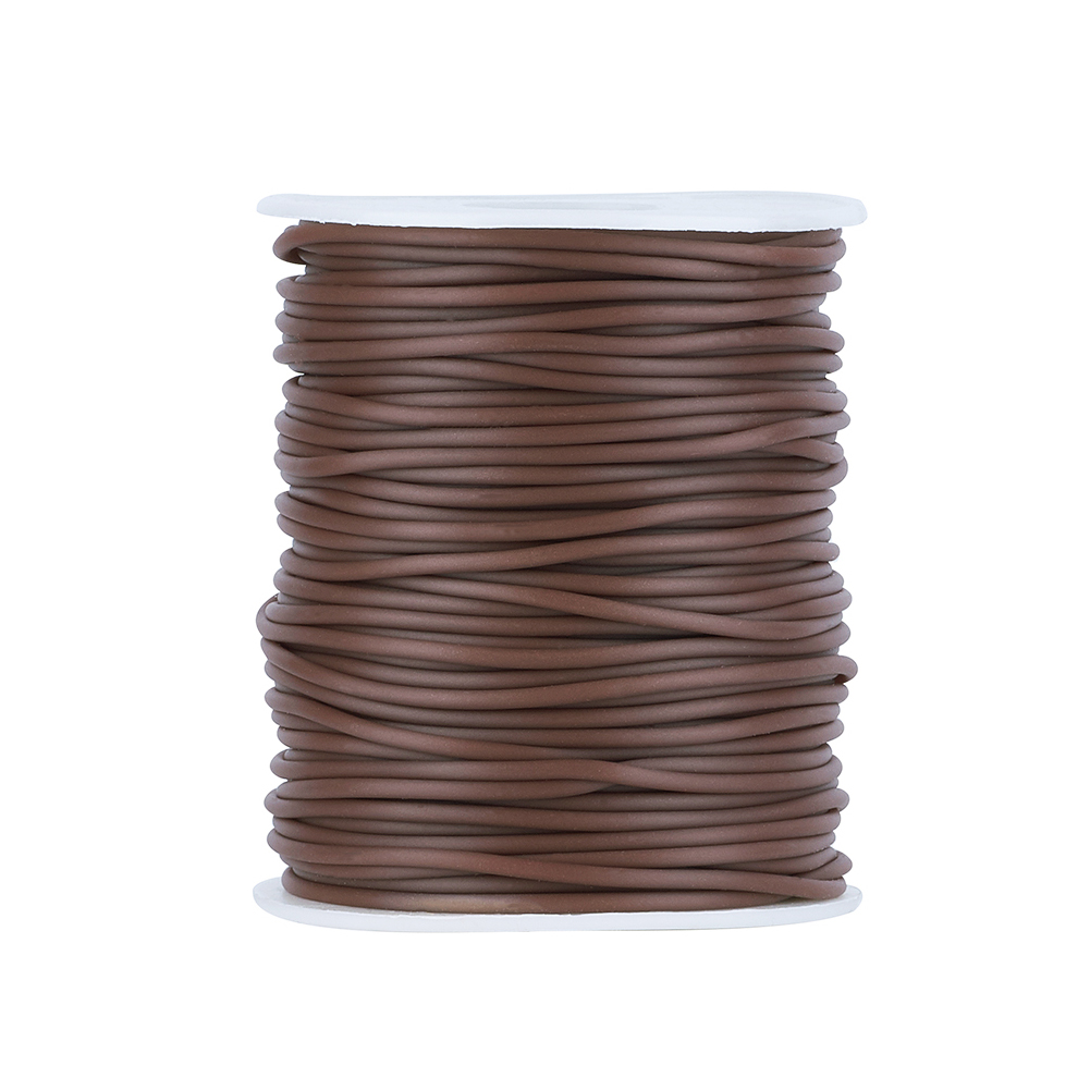 1Roll 2mm 3mm 4mm Hollow Pipe PVC Tubular Synthetic Rubber Cord Tube Thread Cord For Handmade Necklace Bracelet Jewelry Making