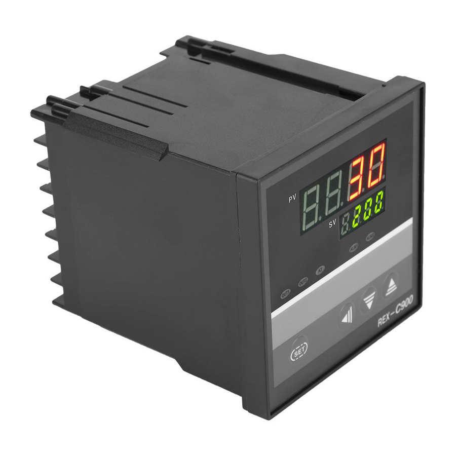 REX-C900 Thermostat Intelligent PID Temperature Control Regulator Automation New