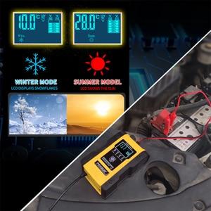 Image 4 - NEUE 12,6 V Lithium Auto Batterie Ladegerät 12V 24V 6A Puls Reparatur Smart Schnelle Ladegerät AGM GEL Blei säure LiFePO4 LiPo 7 bühne Ladegerät