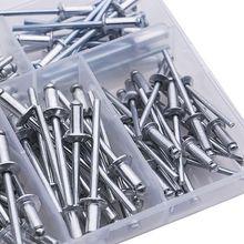 120 шт./компл. M3.2* 7/9/11 лет M4* 8/10/13 GB12618 алюминиевые глухие заклепки для художественного оформления ногтей, заклепок Pop Rivets для мебели кабельные наконечники в наборе для 35ED