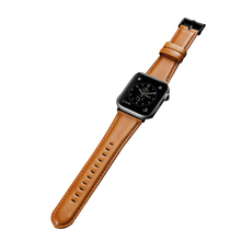 Strap For Apple Watch Band Genuine leather strap 38-40mm Sma