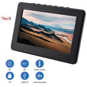 Image 5 - Leadstar dijital HD TV 800x480 7 inç DVB T2 TV ve Analog televizyon alıcısı desteği hafıza kartı USB DVB T TV
