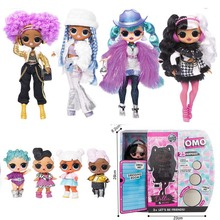 New OMG Doll Sweet Treat Toys Hobbies 28cm Sisters Dolls Sur