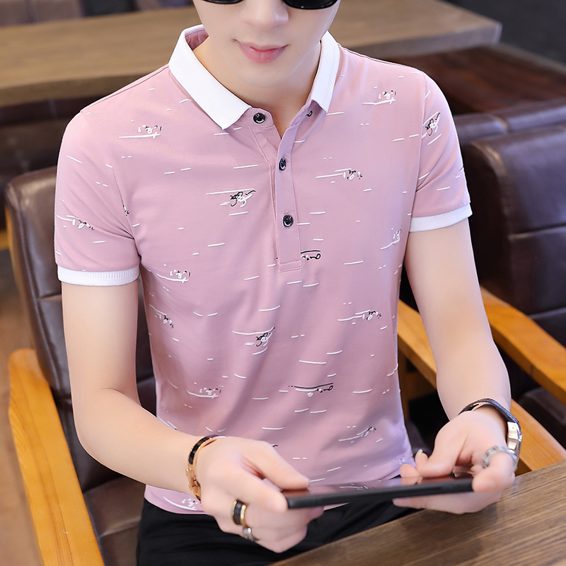 Shirt Men Jerseys Short-Sleeve Casual Cotton Summer Fashion-Brand for Slim-Fit Tops M-3XL