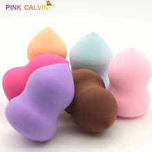Beauty Makeup Sponge Powder Puff Smooth Foundation Sponges for Lady Make Up Sponge High Quality Cosmetic Puff Colors Tool la milee beauty makeup sponge powder puff smooth foundation sponges for lady make up high quality cosmetic puff tool 6 colors
