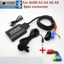 Yatour YTBTK Bluetooth Car Kit For AUDI A3 A4 A6 A8 AllRoad TT Concert 1 Concert 2 Symphony Radios Audio MP3 Player
