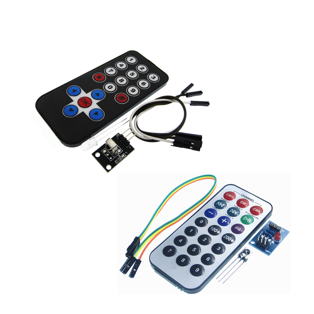 10set/lot Infrared Remote Control Module Wireless IR Receiver Module DIY Kit <font><b>HX1838</b></font> Smart Electronics for Ra image