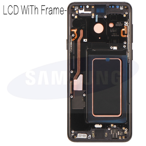 Image 3 - 100% супер AMOLED Замена с рамкой для SAMSUNG Galaxy S9 S9 + ЖК дисплей сенсорный экран дигитайзер G960 G965 s9 plus LCD