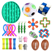 Sensory-Toy-Set Fidget-Toys Mesh Marble Anti-Stress Stretchy Relief Gift Adults Kids