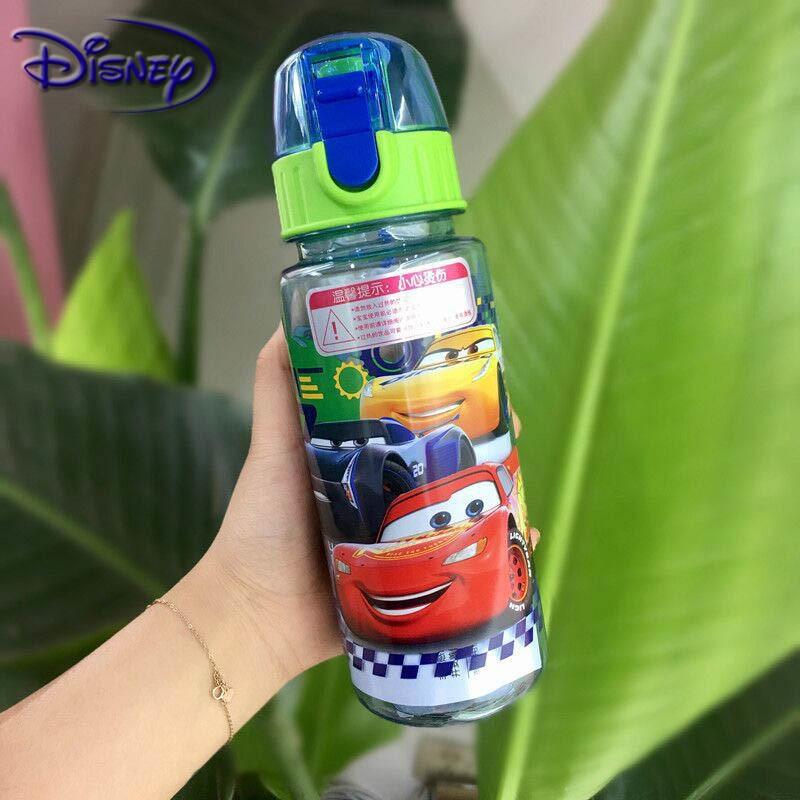 Disney Eco-friendly Kids Drinking Cartoon Water Bottles BPA Free Tritan Straw Children Bottle Children Kettle Portable Bottle