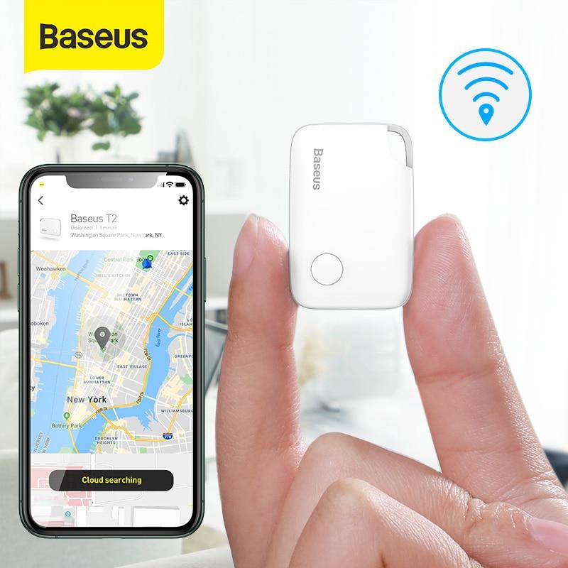 Baseus Smart GPS Tracker Mini Anti-loss Wireless Track Device GPS Animal Kid Document GPRS Tracker Dog Smart Key Tag GPS Locator