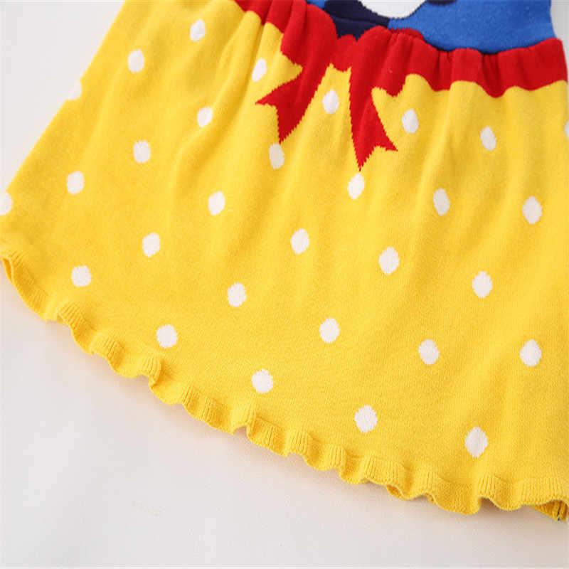 Vestido Da Menina De malha de Algodão Vestido de Natal dia das bruxas Para A Menina Crianças Vestidos Para Meninas Neve branca Meninas Vestidos de Princesa Traje