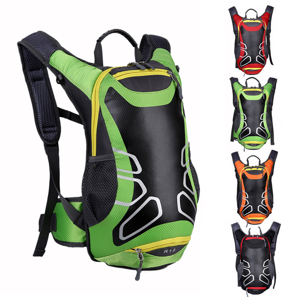 15L Waterproof Cycling Bicycle Backpack Road Mountain Bike Sports Hiking Bag