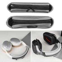 Headband Cover Universal Cushion-Pad-Protector for Audio Closure Zipper